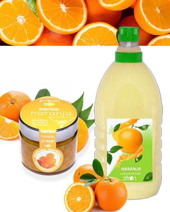Concentrados De Fruta ZITRON Naranja